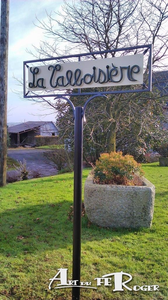 Panneau-village