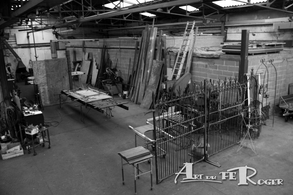 Atelier Art du FeRoger en Normandie