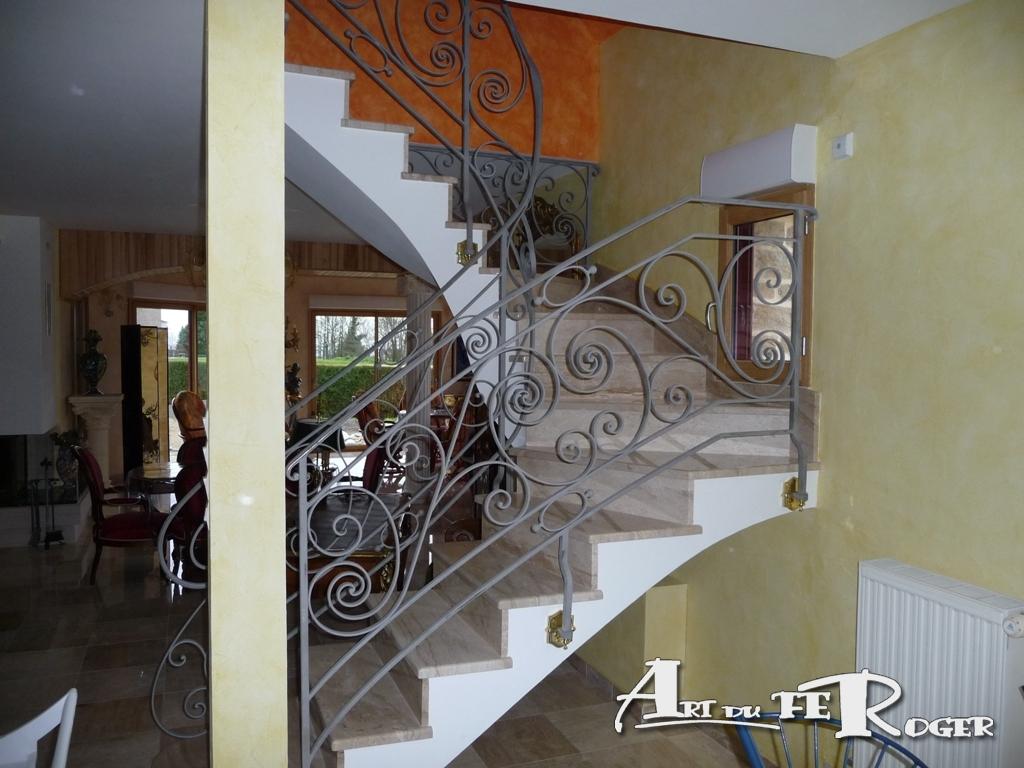 Rampes Escaliers Art Du Feroger
