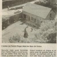 Journée des métiers d'art Vire (2000)